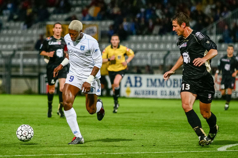 Djibril Cissé AJ Auxerre