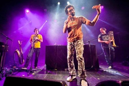 Sax Machine en concert à Auxerre