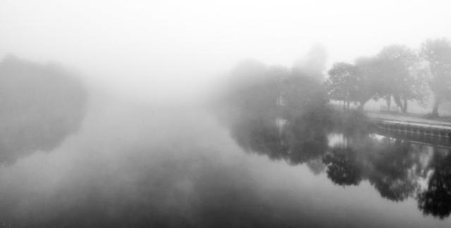brouillard sur l'Yonne