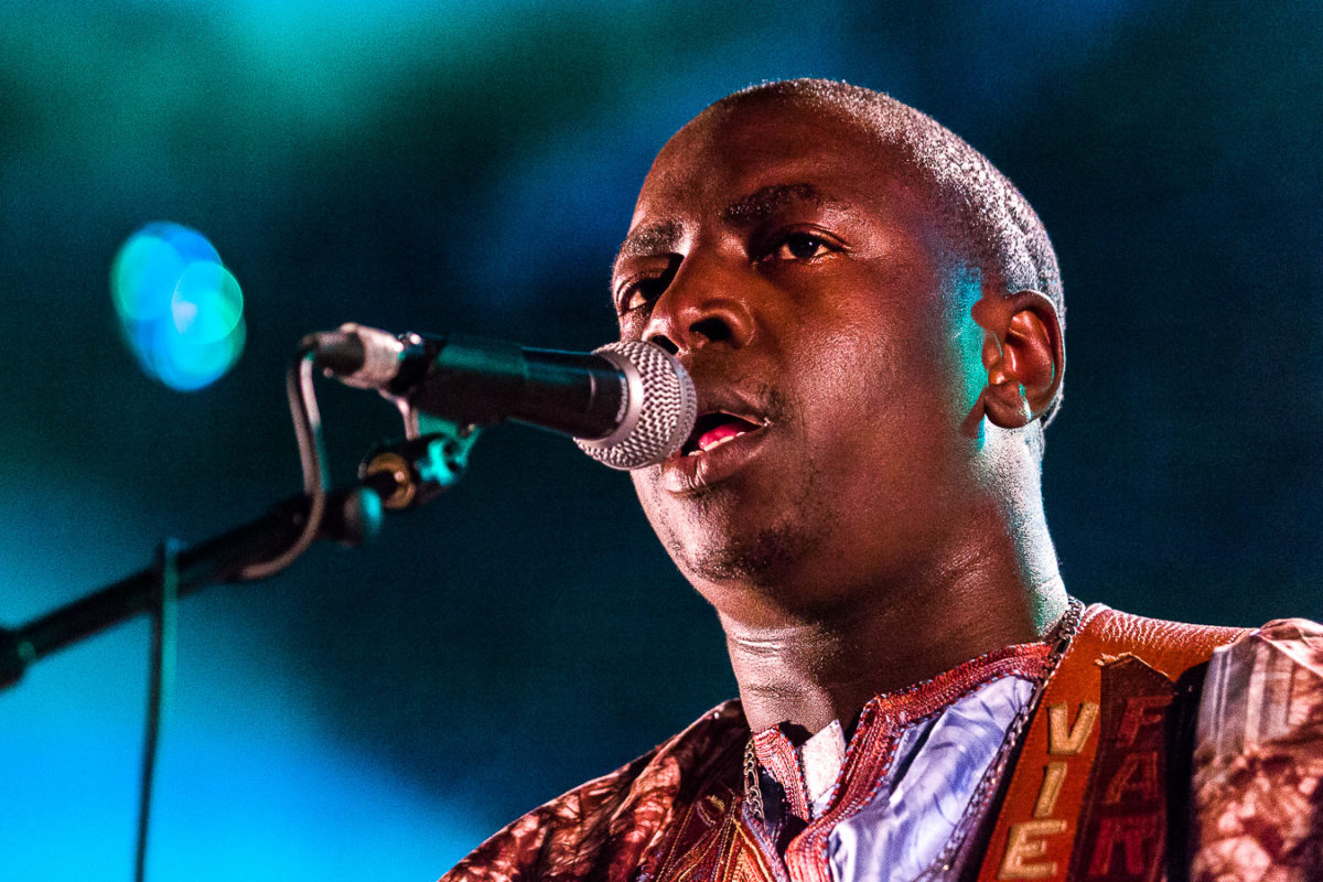 Vieux Farka Touré en concert