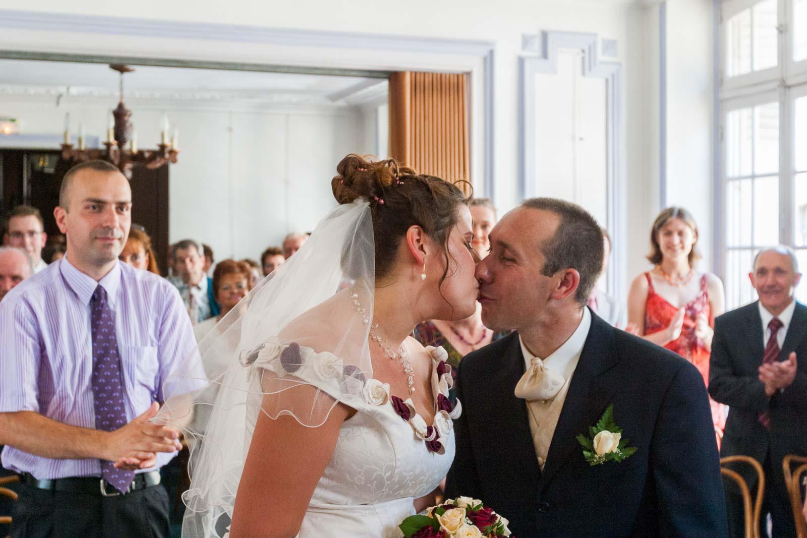 Mariage S & F mairie de Brienon