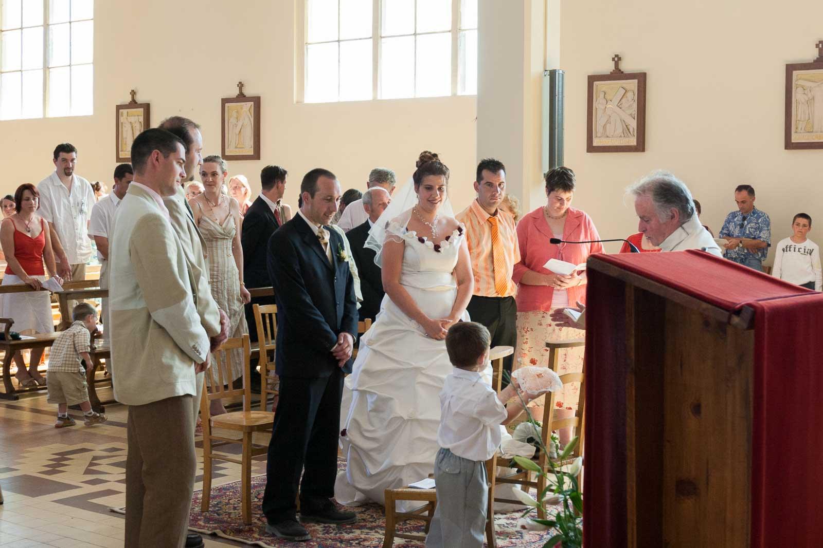 Mariage S & F église de Migennes