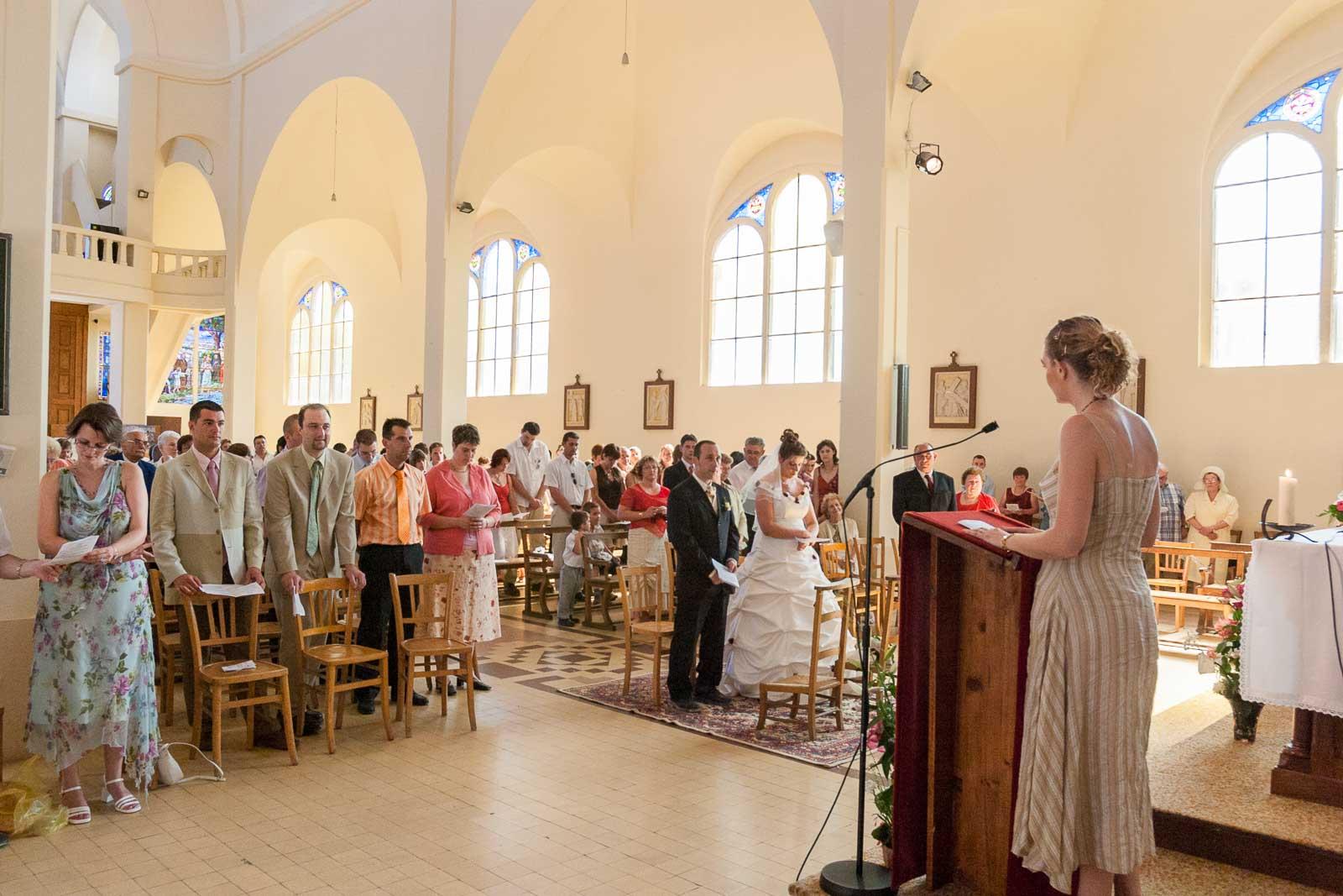 Mariage église de Migennes