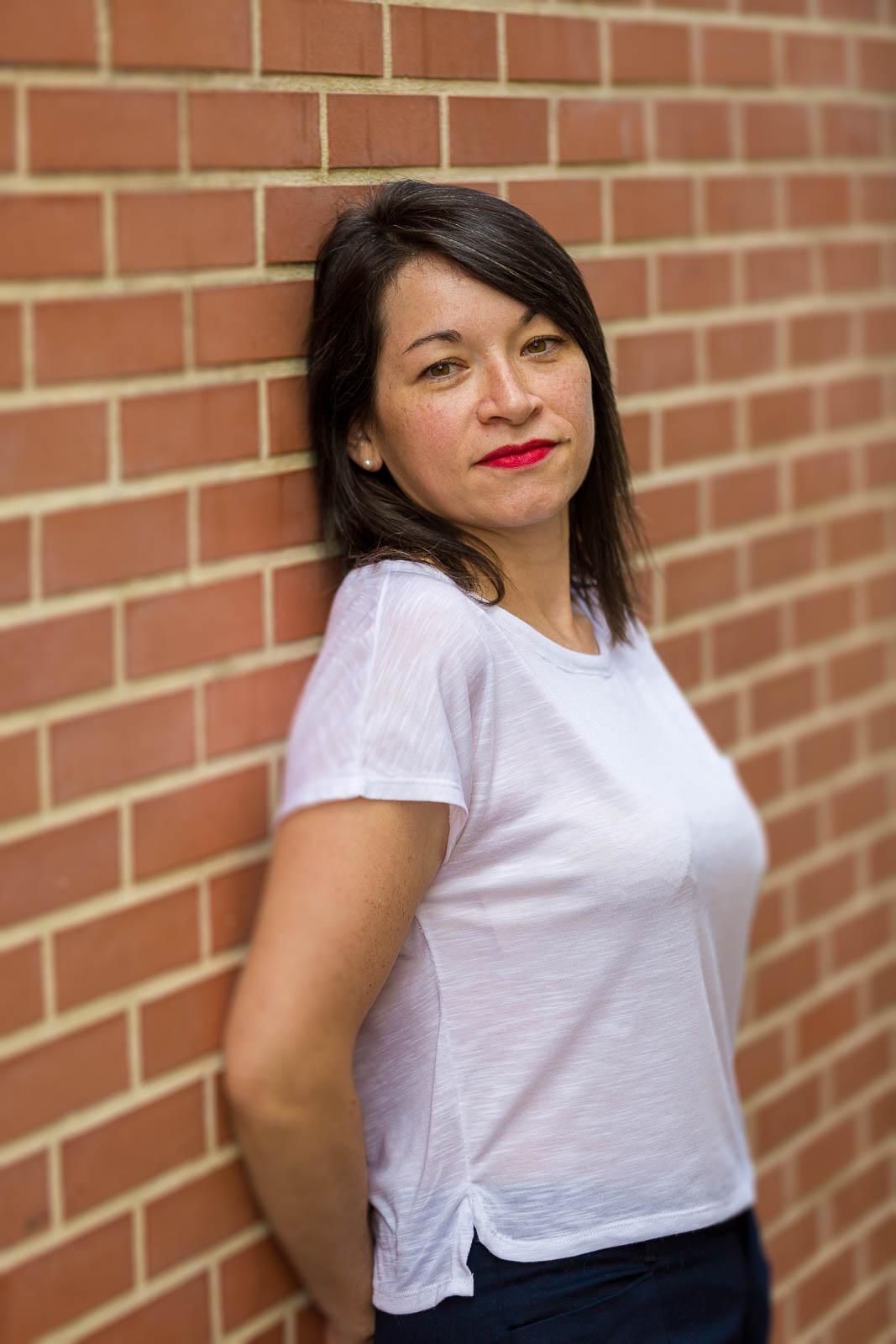 Portrait femme mur